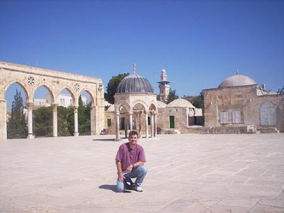 Dome of the Rock Holy Spot