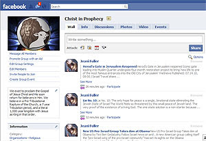 Christ in Prophecy Facebook Group