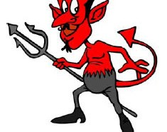 Cartoon Satan