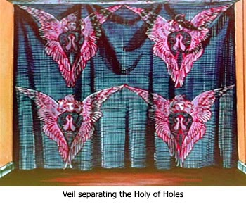 Veil to the Holy of Holies