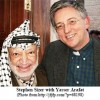 Stephen Sizer with Yasser Arafat