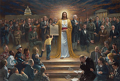 One Nation Under God by Jon McNaughton