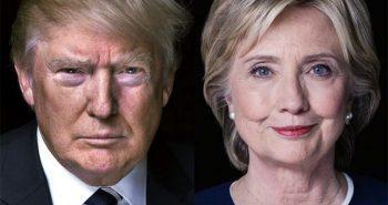 Trump v Clinton
