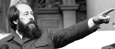 Aleksandr Solzhenitsyn Speaking at Harvard