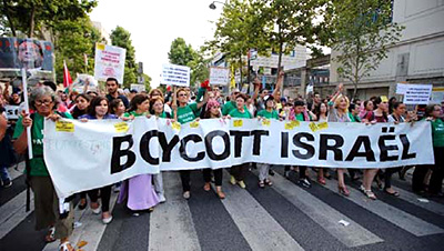 Anti-Israel Parade