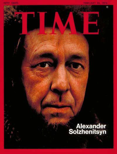 Time Magazine on Solzhenitsyn