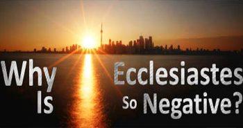 Ecclesiastes Negative