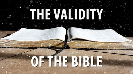 Answers on the Validity of the Bible (Part 5)