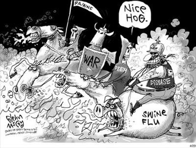 Swine Flu Comic