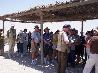 Dr. Reagan Preaching at Megiddo