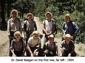 Dr. Reagan in Boy Scouts
