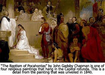 The Baptism of Pocahontas