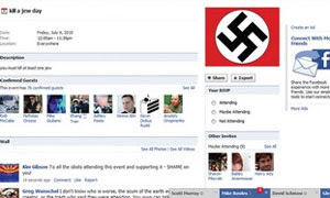 Anti-Semetic Facebook Group