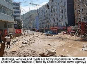 Gansu Province Flooded