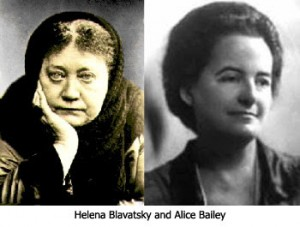 Helena Blavatsky and Alice Bailey