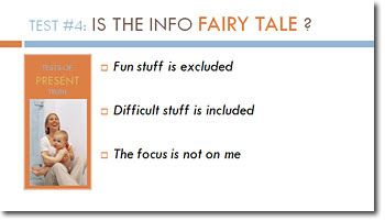 Is the info a fairy tale?