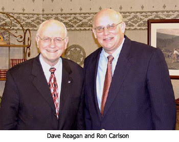 Dave Reagan and Ron Carlson