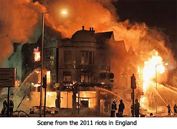 Riots in England
