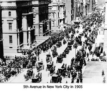 New York City in 1905