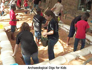 Archaeological Digs for Kids