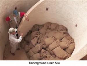Underground Grain Silo