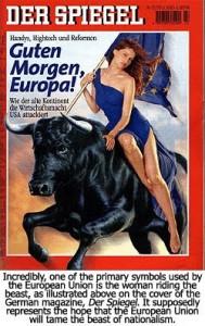 EU Woman on Beast