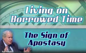 Ron Rhodes on the Sign of Apostasy