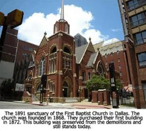 Original First Baptist Building