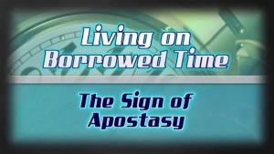 Ron Rhodes on the Sign of Apostasy