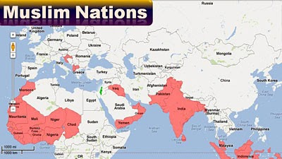 Muslim Nations Post-Gog and Magog