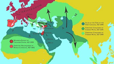 Islam's Spread Map 2