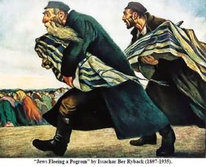 Jews Fleeing a Pogrom