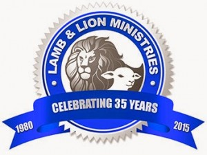 Lamb & Lion Ministries 35th Anniversary Seal