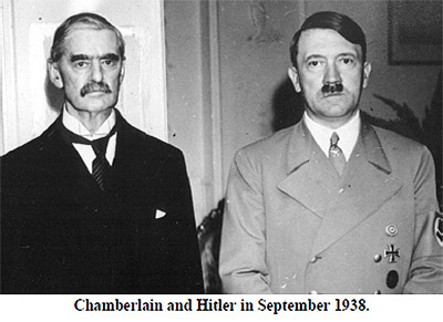 Chamberlain and Hitler