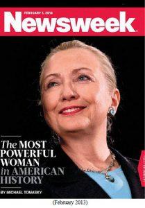 Hillary on Newsweek