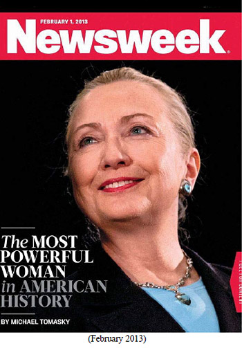 Hillary on Newsweek