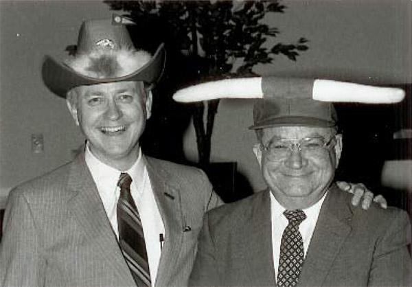 Wayne Smith with Dave Reagan