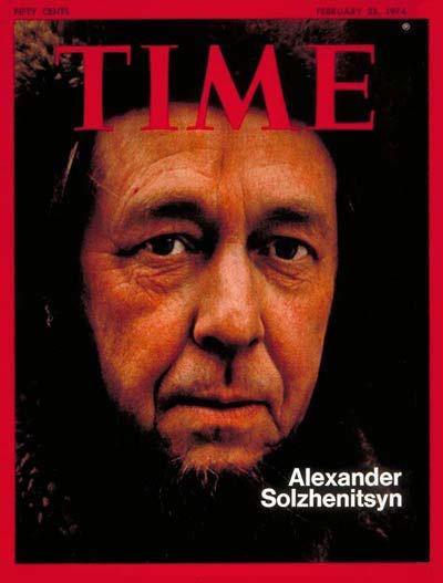 Time Magazine on Solzhenitsyn