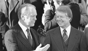 Presidents Ford and Carter