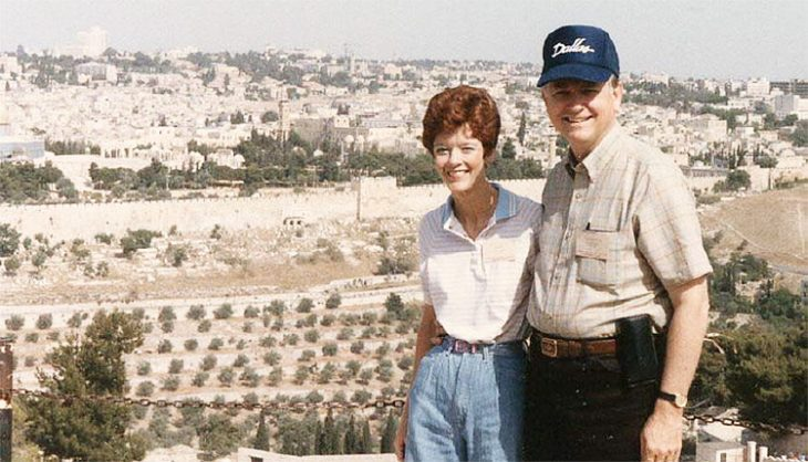 Dave and Ann in Israel