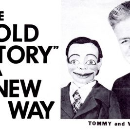 Wallace Jones with Tommy the Dummy