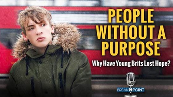 Youth in Despair: People Without A Purpose