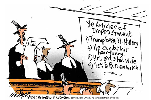 Cartoon Impeachment