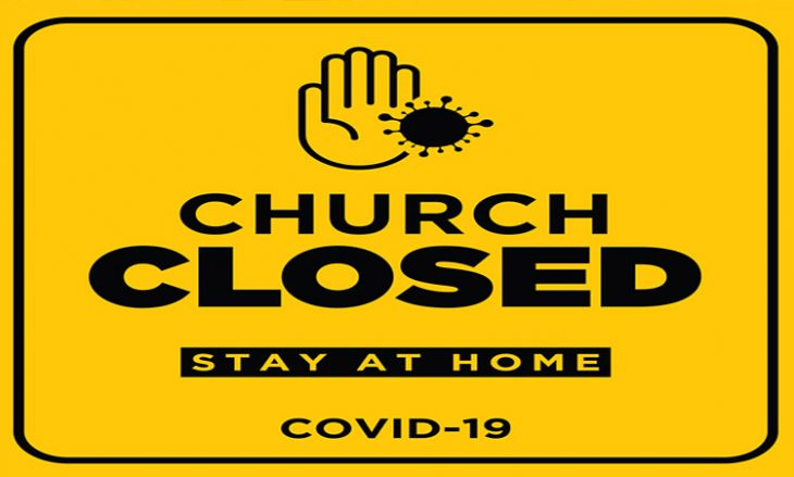 Church Closed Sign