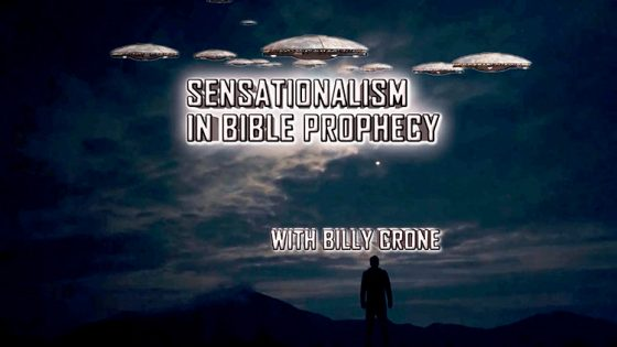 Billy Crone on Sensationalist Prophecy