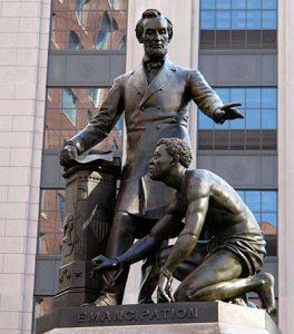 Lincoln Emancipation Statue