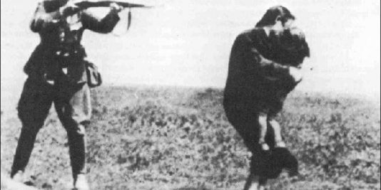 Nazi Shooting Mother